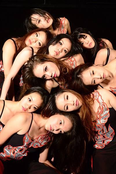 台北民族舞團的新生代舞者