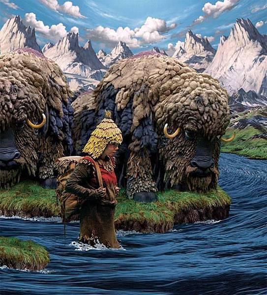 冰島歌手碧玉也是視覺藝術家,她的音樂錄像作品也現身台北