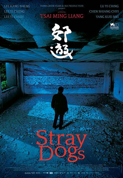榮獲威尼斯影展評審團大獎與金馬獎最佳導演獎的《郊遊Stray Dogs》電影海報 (汯呄霖電影)