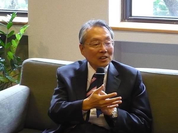 國藝會董事長施振榮暢談產業文創化推廣播種計畫 (多汁報攝影組)