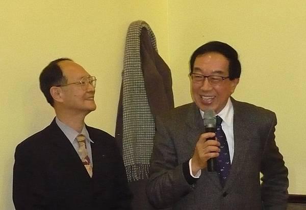 國民黨中常委劉大貝祝賀兩會會務蒸蒸日上
