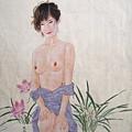 水墨的古典婉約、工筆的當代時尚、吳玉陽的畫作令人驚艷。
