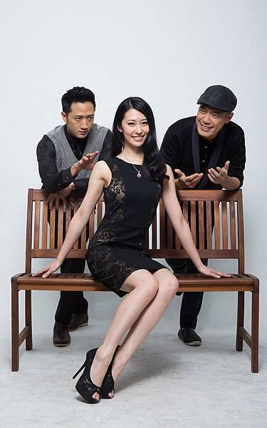 《大算命家》主要演員(右起)樊光耀、張郁婕、高英軒。