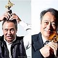 華語電影的國際級大導演 (左起) 蔡明亮、侯孝賢、李安、杜琪峯,2013年都參與台灣主辦的金馬獎25週年活動 (金馬獎執委會提供)