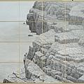 梁震明《岩外之意》96x162cm (2013)