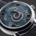 Vacheron Constantin (江詩丹頓) 2013年出品的蛇年特别紀念版腕錶 (江詩丹頓 提供)