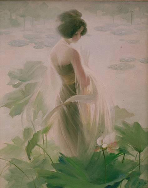 王暉油畫「東方浪漫系列」是他1990年代創作主題