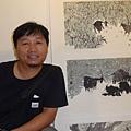 徐思田和他的畫作