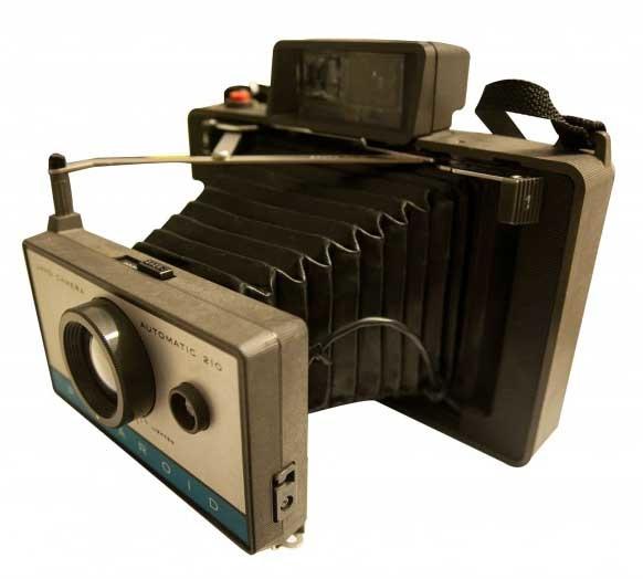 POLAROID PACK FILM撕拉片 210相機