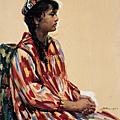 劉秉江油畫《阿孜古麗》布面油彩 (1977) 曾以275000人民幣拍出