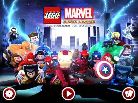 由樂高(LEGO)公司與漫威超级英雄(MARVEL)聯手合作開發的動作冒險類行動數位遊戲 (英文版) 2014年暑假公開,非常受到非成年使用者族群歡迎 (擷自網路)