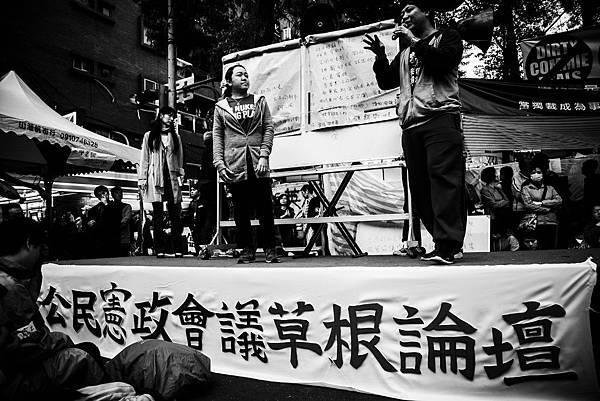《太陽‧不遠》「我來街頭的理由」 「退場前。志工絮語」/王佩芬