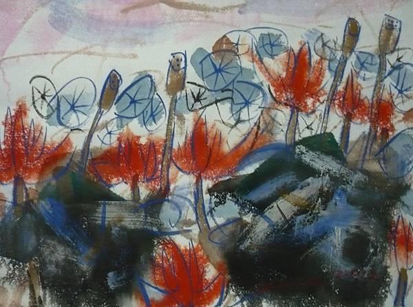 藝評家認為,何季諾不追求畫得完美,而是誠實紀錄思想過程