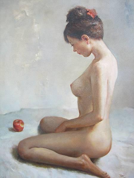 林樹森《人體油彩》30F 私人收藏