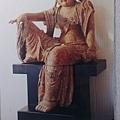 王南雄收藏之宋代木雕水月觀音