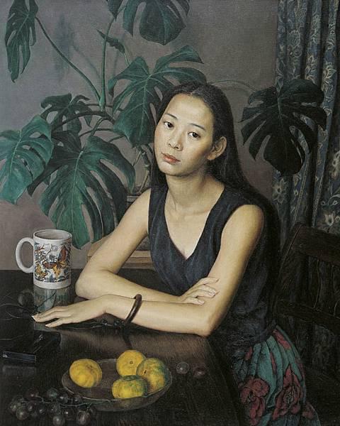 劉孔喜認為,任何一個畫種都有喜歡它的人群,他就是特別喜歡創作過程費工費時的古老畫法Tempera