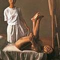 夏星的油畫不強調明暗,比較像東方繪畫
