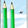 《查理週刊》攻擊事件引發更多或諷刺或幽默或令人震驚的漫畫