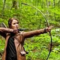 電影《飢餓遊戲》中由 Jennifer Lawrence 所扮演的角色 Katniss Everdeen (凱妮絲)
