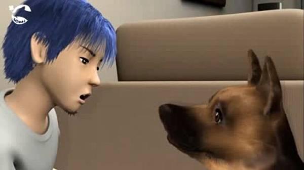 動物保護3D動畫短片《起初的愛》劇照