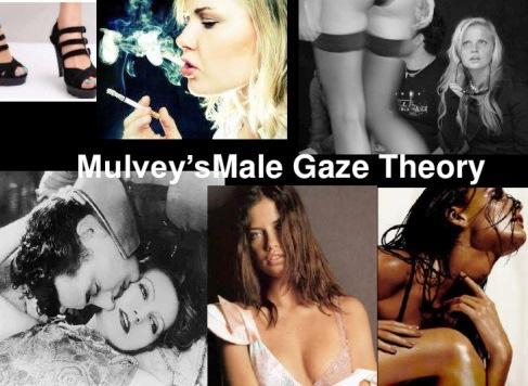 蘿拉‧幕非教授提出男性窺視(gaze)理論,認為影像中的女性是慾望投射的客體物 (圖擷自網路)