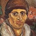 陳澄波《自畫像》(1930) 油彩畫布