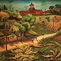 陳澄波《淡水中學》(1936) 油彩畫布