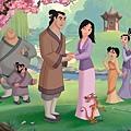 迪士尼出品的《木蘭》(1988)動畫電影劇照,台灣出身的動畫短片編導張振益參與本片角色設計