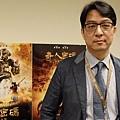 偶動漫娛樂公司總經理傅琛壹接受《多汁報》專訪