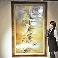 香港蘇富比「現代亞洲藝術春拍」預展趙無極的油畫