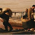 王宏劍《天下黄河》油畫(局部)也是其代表作之一