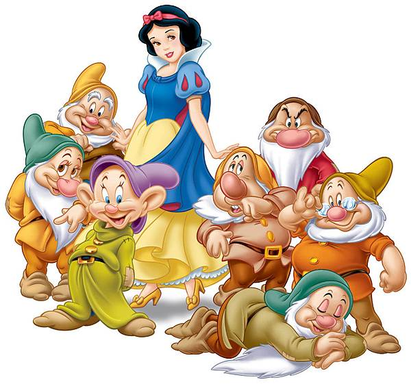 迪士尼的經典動畫《白雪公主與七矮人》