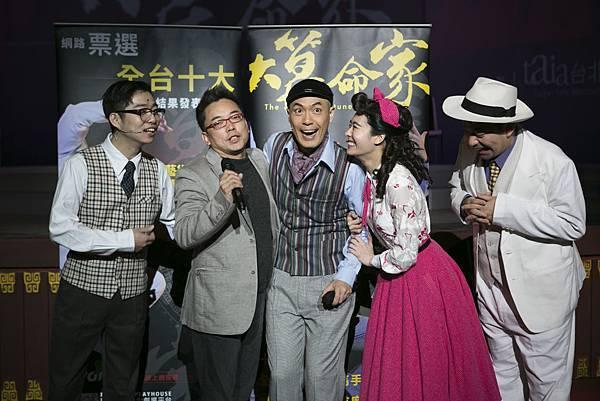 樊光耀(中)領銜主演台灣新世代舞台劇新指標《大算命家》