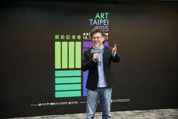 中華民國畫廊協會王瑞棋理事長  (畫廊協會 提供)