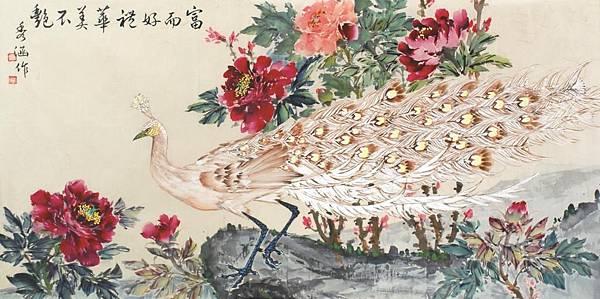 白孔雀69x136 cm
