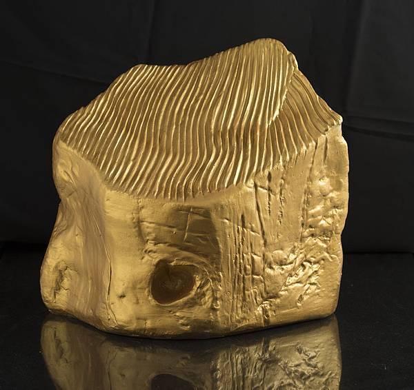 蕭勤, 超越, 2013, 銅塑, H34.5 x 40 x 29.3 cm