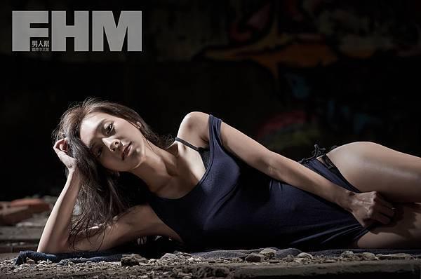 陳瑋薇拍攝FHM,擺脫大姊姊形象,展現性感【照片由FHM提供】