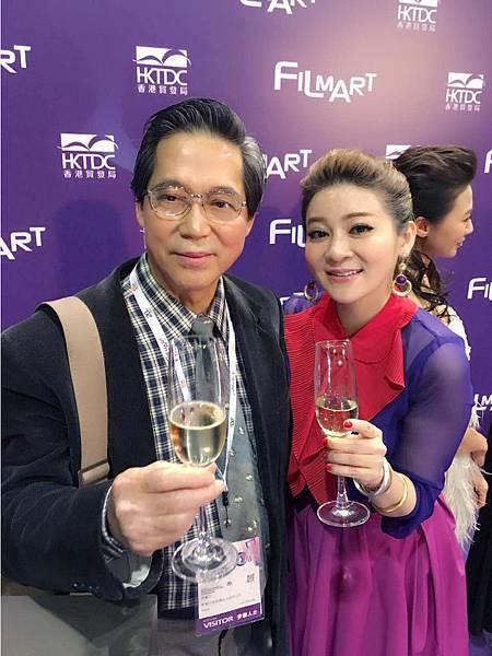 王彩樺前進香港與林清介導演相見歡(2)_好孩子國際娛樂提供