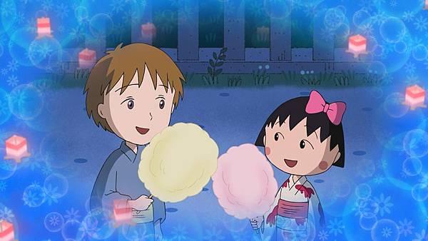 005【電影版櫻桃小丸子】劇照_安德烈(左)來到日本體驗寄宿生活,將跟小丸子(右)發展出跨越國界的友誼
