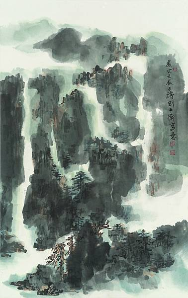 _DSC2011劉平衡-香山積翠-143x90 cm