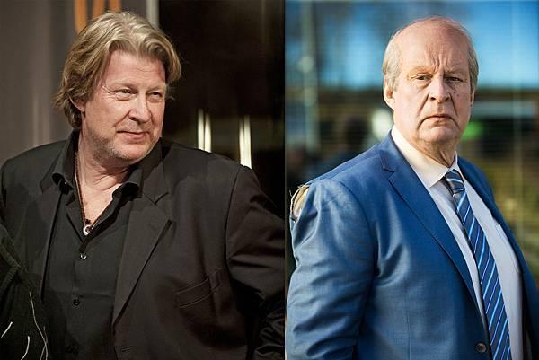 洛夫拉斯卡(Rolf Lassgard)演出《明天別再來敲門》拔髮剃眉化老妝 簡直判若兩人