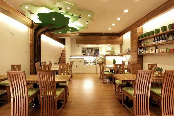 士林親子餐廳-1(35坪時尚系列2056黃金柚木)