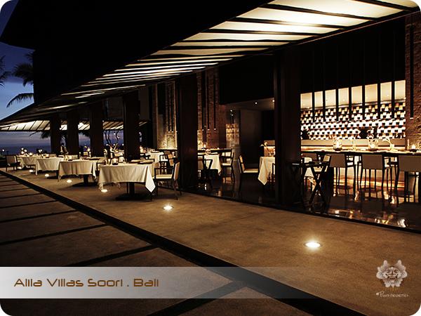 ALILA VILLAS SOORI Cotta Restaurant
