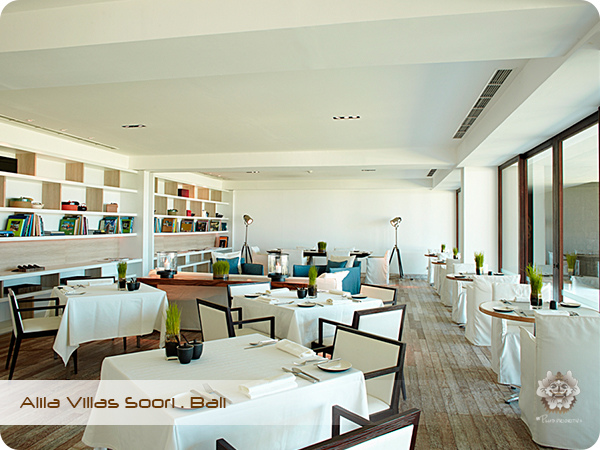 Alila Villas Soori . Bali Reading Room