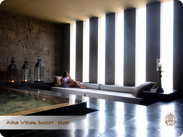 Alila Villas Soori . Bali Spa Relaxation Lounge