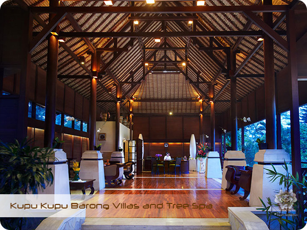 Kupu Kupu Barong Resort and Tree Spa Lobby Space