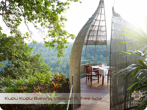 Kupu Kupu Barong Resort and Tree Spa Bird Nest Romantic Dinner