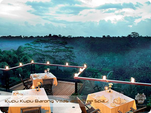 Kupu Kupu Barong Resort and Tree Spa F&B Restaurant
