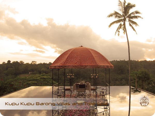 Kupu Kupu Barong Resort and Tree Spa Twilight Dinner