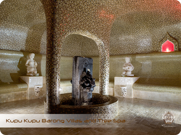 Kupu Kupu Barong Resort and Tree Spa Steam Room